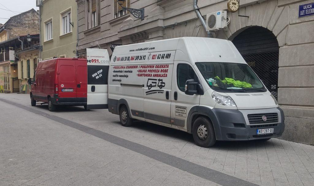 Kombi prevoz Novi Sad Beograd Subotica Sombor Kikinda Zrenjanin i dr.