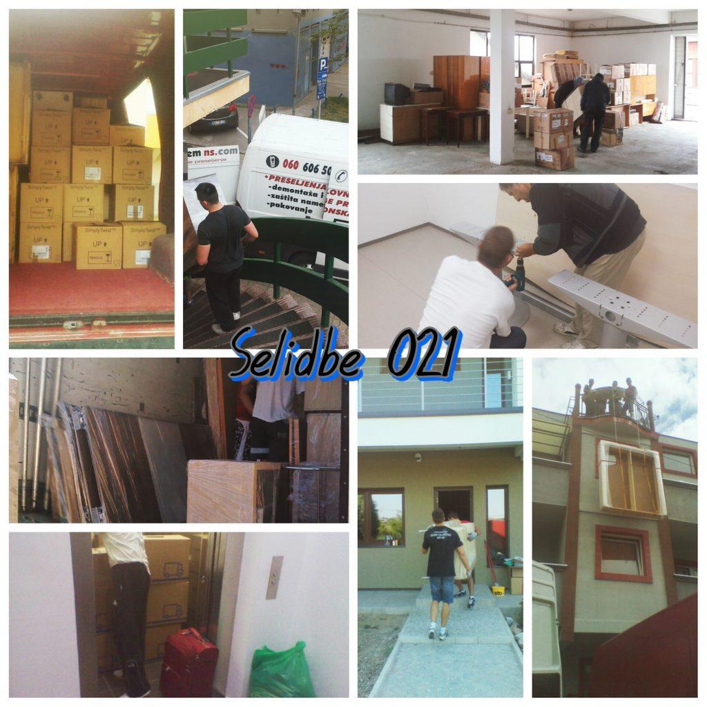Pogledajte slike agencije za selidbe iz Novog Sada
